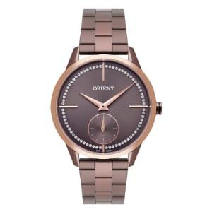 Relógio Feminino Analógico Orient FTSS0061-N1NX - Marrom