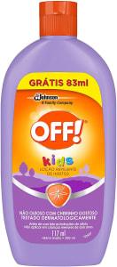 Repelente Off Kids Loção 117ml + 83ml grátis