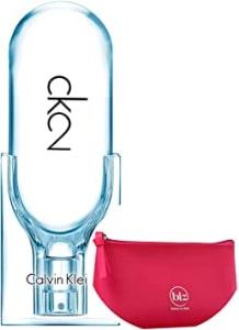Ck2 Calvin Klein Eau De Toilette - Perfume Unissex 50ml + Nécessaire