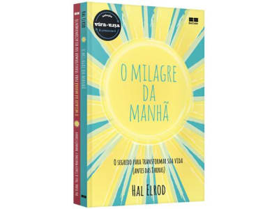 Livro Milagre Da Manhã & Milagre Da Manhã - Relacionamentos Hal Elrod Vira-Vira
