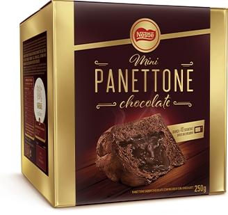 KIT 10 MINI PANETTONE CHOCOLATE NESTLÉ