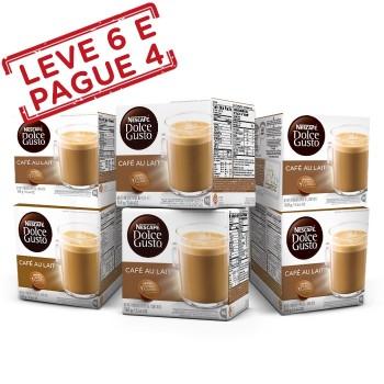 Combo de Café Au Lait (Leve 6 Pague 4) - NESCAFÉ Dolce Gusto