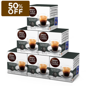 Combo de Espresso intenso- 6 Caixas