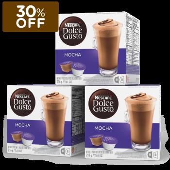 Oferta ➤ COMBO DE MOCHA – Nescafé Dolce Gusto   . Veja essa promoção