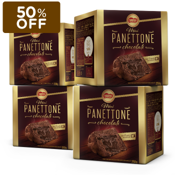 MINI PANETTONE CHOCOLATE NESTLÉ (LEVE 4, PAGUE 2)