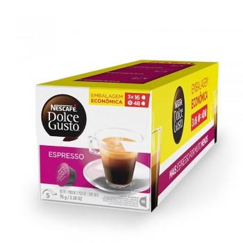 Dolce Gusto - Pack Espresso - 48 Cápsulas (Vencimento: 01/10)