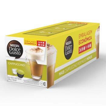 Dolce Gusto - Pack Cappuccino - 48 Cápsulas (Vencimento: 01/10)