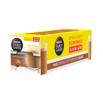 Dolce Gusto - Pack Café Au Lait - 48 Cápsulas (Vencimento: 01/10)