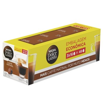Dolce Gusto - Pack Caffè Matinal - 48 Cápsulas (Vencimento: 01/10)