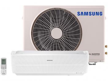 Ar-condicionado Split Samsung Inverter 9.000 BTUs - Quente/Frio Wind Free AR09NSPXBWKNAZ - Magazine Ofertaesperta