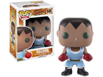 Boneco Colecionável Pop Games Street Fighter - Balrog 10,5cm Funko