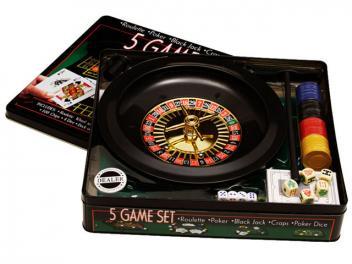 Conjunto com 5 Jogos - Incasa FN0008 - Magazine Ofertaesperta