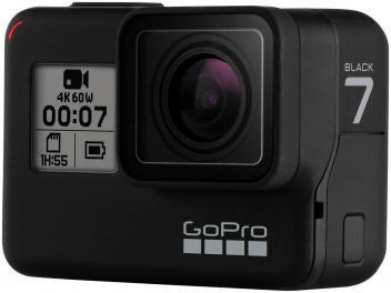 "GoPro Hero 7 Black V2 12MP 4K Wi-Fi Bluetooth - 2"" à Prova de Água com Bateria - Magazine Ofertaesperta"