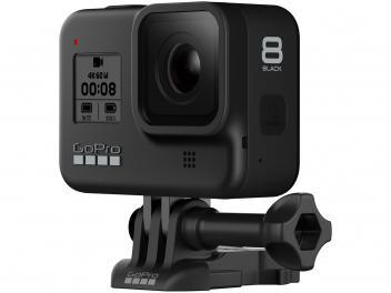 "GoPro Hero 8 Black 12MP 4K Wi-Fi Bluetooth - 2"" à Prova dÁgua com Bateria e Carregador - Magazine Ofertaesperta"