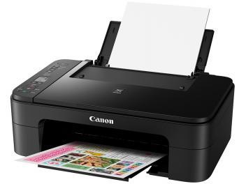 "Impressora Multifuncional Canon TS 3110 - Jato de Tinta Wi-Fi Colorida LCD 1,5"" USB - Magazine Ofertaesperta"