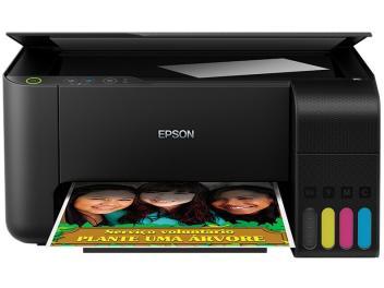 Impressora Multifuncional Epson EcoTank L3110 - Jato de Tinta Colorida USB