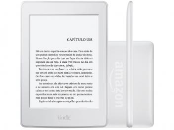 "Kindle Paperwhite Amazon Tela 6"" 4GB Wi-Fi Luz Embutida Branco - Kindle amazon - Magazine Ofertaesperta"