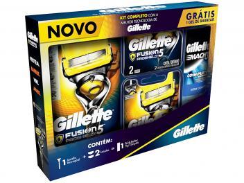 Kit Aparelho de Barbear Gillette Proshield - 3 Peças - Magazine Ofertaesperta