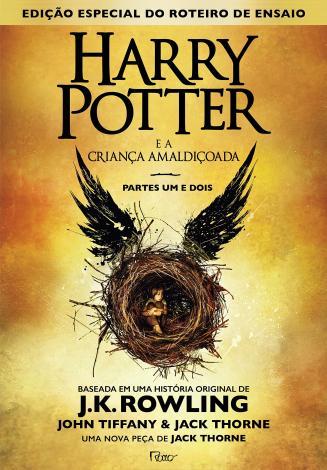 Livro - Harry Potter e a criança amaldiçoada - Parte um e dois - Magazine Ofertaesperta