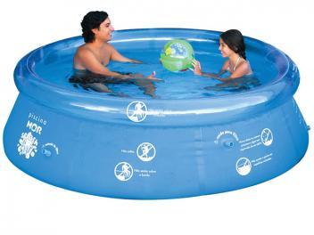 Piscina 2400 Litros Redonda - Mor Splash Fun - Magazine Ofertaesperta