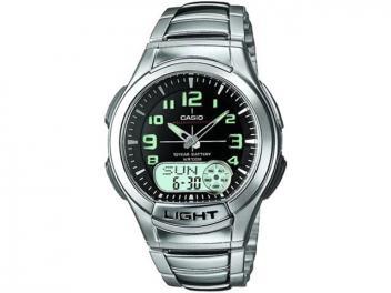 Relógio Masculino Casio Anadigi - Mundial AQ 180WD 1BV Prata - Magazine Ofertaesperta