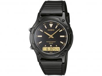 Relógio Masculino Casio Anadigi - AW-49HE-1AVDF - Magazine Ofertaesperta