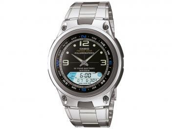 Relógio Masculino Casio Anadigi - Fishing Gear Prata - Magazine Ofertaesperta