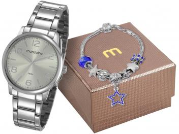 Relógio Feminino Mondaine Analógico 53736L0MGNE5 - Com Pulseira - Magazine Ofertaesperta
