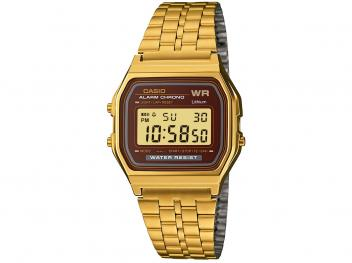 Relógio Unissex Casio Digital A159WGEA-5DF - Dourada