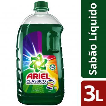 Sabão Líquido Ariel Clássico - 3L - Magazine Ofertaesperta