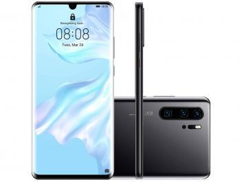 "Smartphone Huawei P30 Pro 256GB Dual Chip 8GB RAM Tela 6.4"""