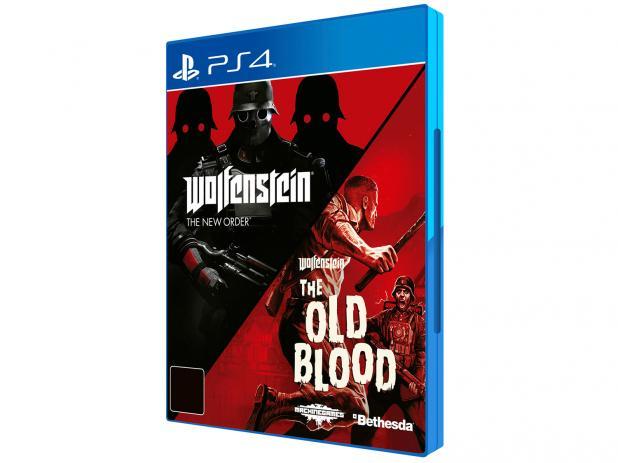 Wolfenstein: The Two-Pack para PS4 - Bethesda