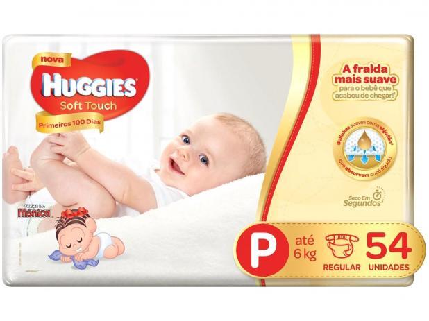 Oferta ➤ Fralda Huggies Soft Touch Mega P, 54 Fraldas   . Veja essa promoção