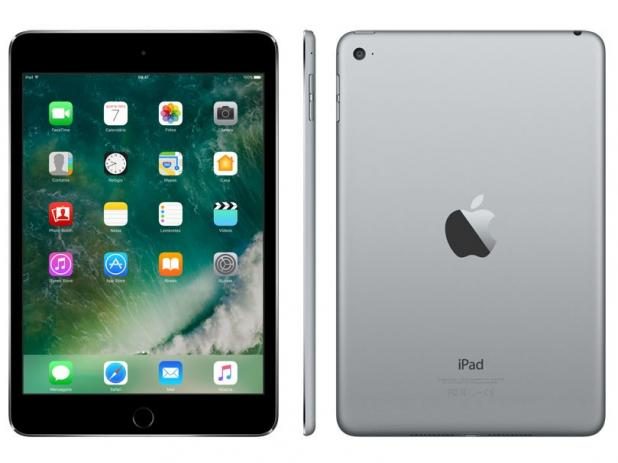 Oferta ➤ iPad Mini 4 Apple 128GB Cinza Tela 7,9 Retina – Wi-Fi Processador M8 Câmera 8MP + Frontal   . Veja essa promoção