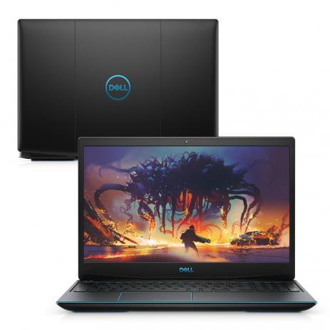 "Notebook Dell Gaming G3-3590-U40P i5-9300H 8GB RAM 256GB SSD GTX 1050 3GB Tela FHD 15.6"" Linux"