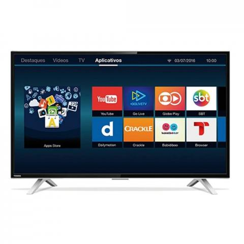 Smart TV Led HD 32 Polegadas Semp Toshiba USB HDMI 32L2600