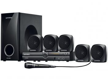 Home Theater Mondial HT-07 com DVD - 240W RMS 5.1 Canais Entrada USB e SD