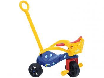 Triciclo Infantil Xalingo com Empurador - Pet Peixinho - Magazine Ofertaesperta
