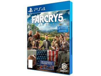 Oferta ➤ Far Cry 5 Edição Limitada para PS4 – Ubisoft – Magazine   . Veja essa promoção