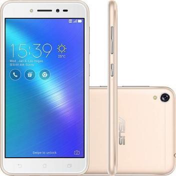 Oferta ➤ Smartphone Asus Zenfone Live 16Gb Dourado Dual Chip Android 6.0 Tela 5 Snapdragon 4G Wi-Fi Câmera 1 – – Magazine   . Veja essa promoção