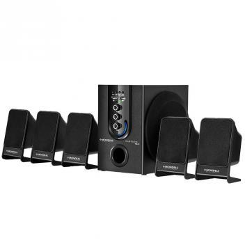 Home Theater HT-12 Subwoofer, 5.1 Canais, USB, Rádio FM, 75W RMS - Mondial