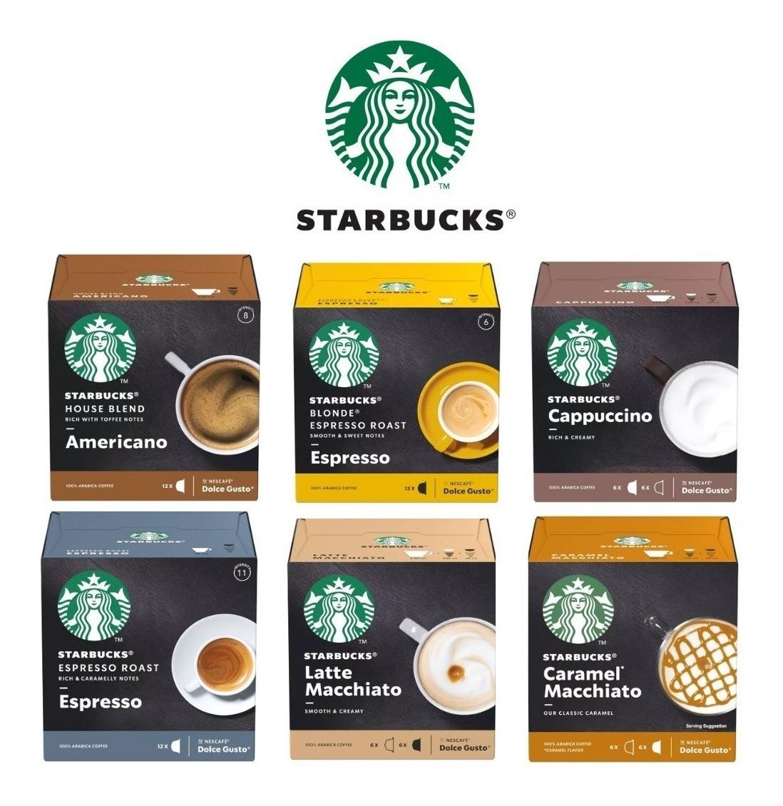 Dolce Gusto - Cápsulas Starbucks por R$22,50