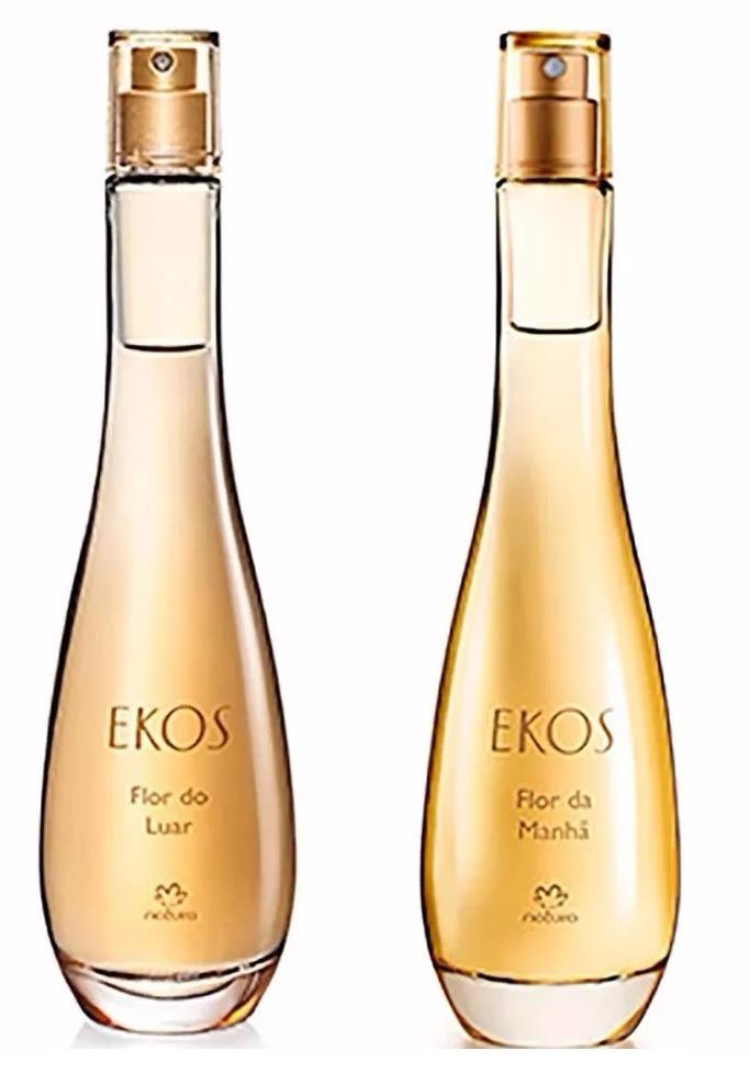 3 Unidades de Desodorante Colônia Flor do Luar Ekos Feminino - 100ml + 3 Unidades de Desodorante Colônia Flor da Manhã Ekos Feminino - 100 ml