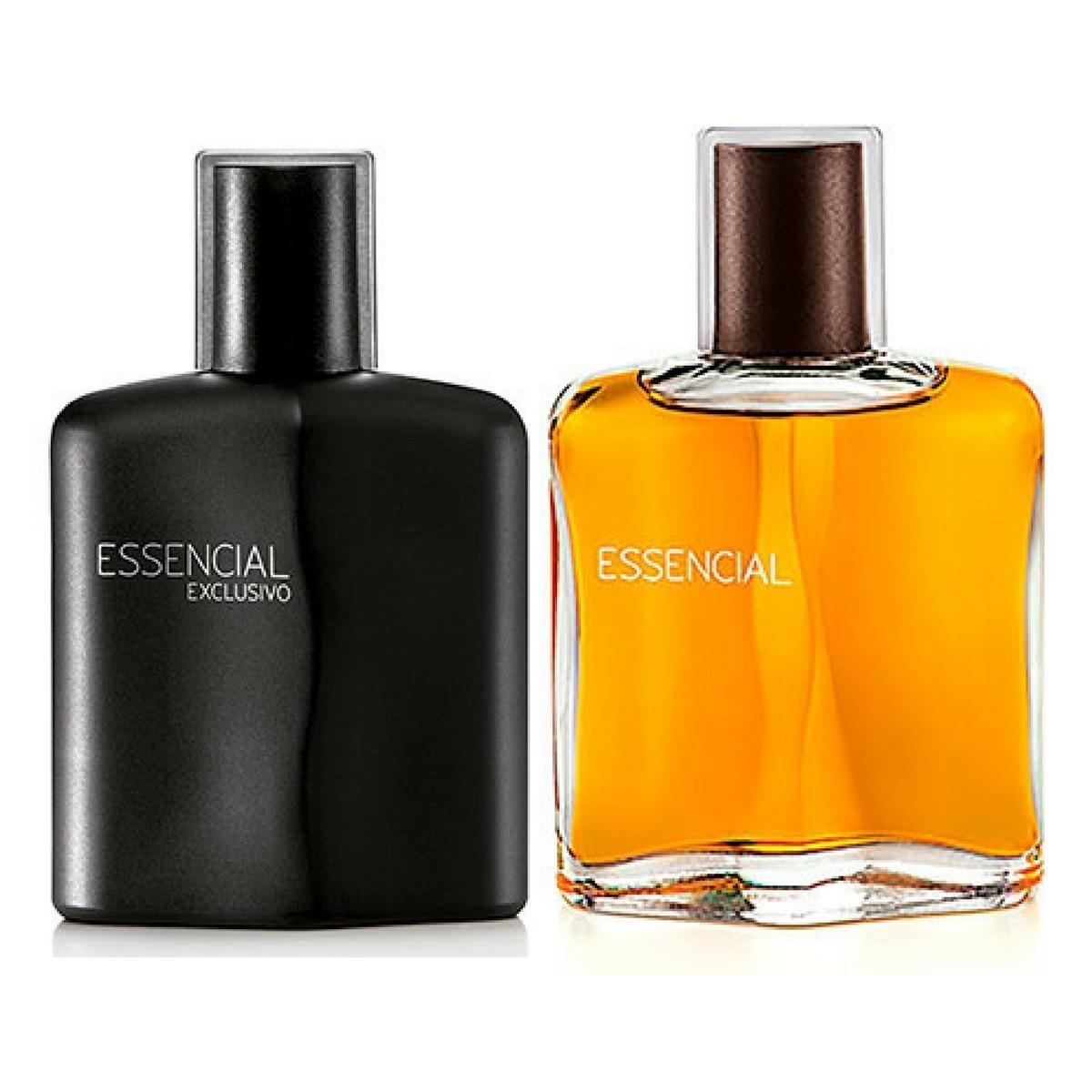 Deo Parfum Essencial Masculino - 100ml + Deo Parfum Essencial Exclusivo Masculino - 100ml