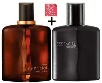 Deo Parfum Essencial Exclusivo Masculino - 100ml + Deo parfum Essencial Intenso Masculino -100 ml