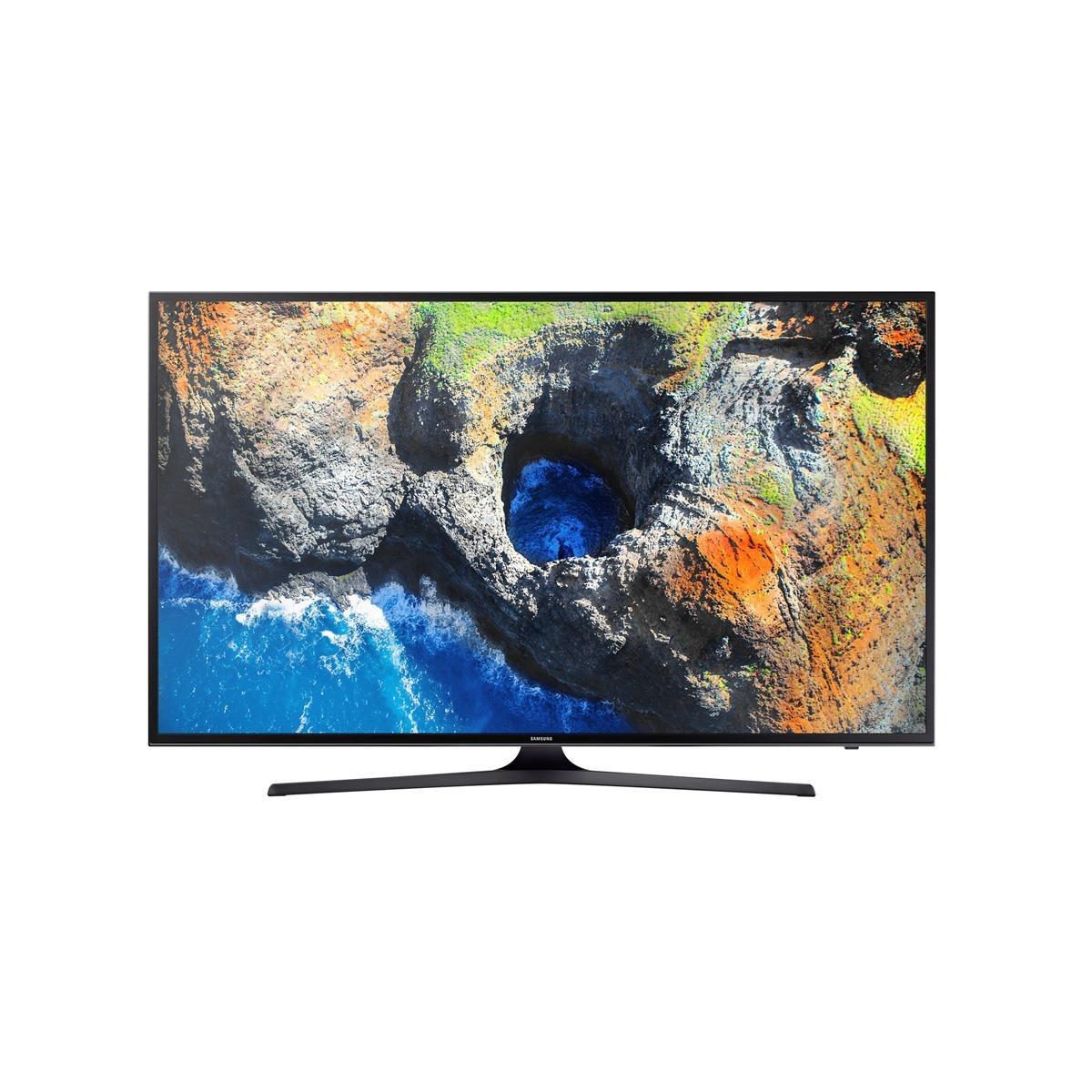 SMART TV LED 40' Samsung 4K, RGB, UHD,HDR Premium,Quad Core, UHD Diming, c/ Conversor Digital, 3 HDMI 2 USB, Wifi Integrado, 20W, 120hz-UN40MU6100GXZD