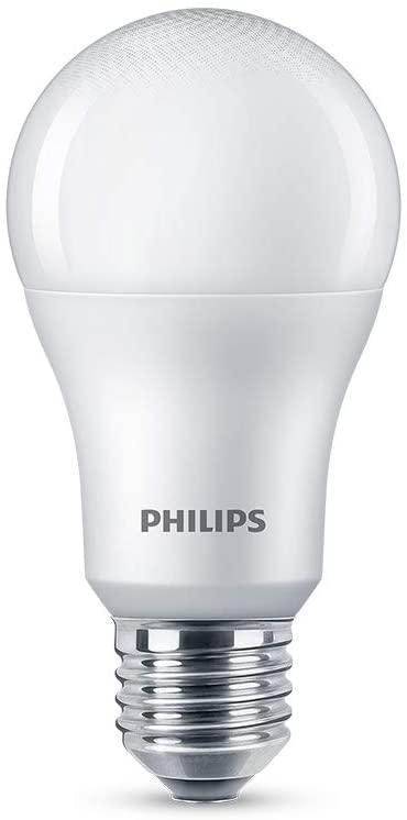 Lampada LED bulbo Philips, branco frio, 9W, Bivolt, Base E27