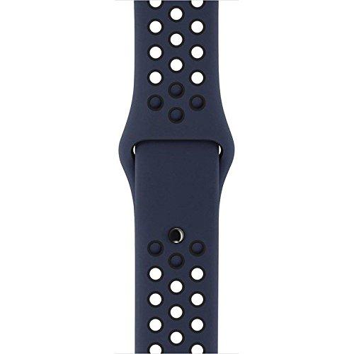 Pulseira para Apple Watch 42 mm, Esportiva Nike Obsidiana/preta - Mq2x2bz/a