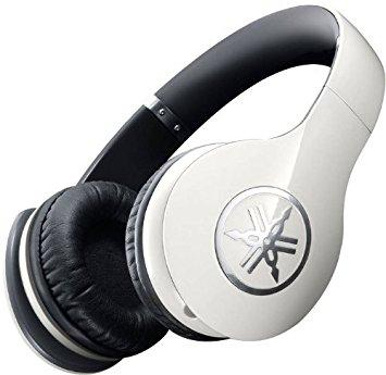 Headphone Yamaha HPH-PRO400 Branco com Adaptador P10 Banhado a Ouro