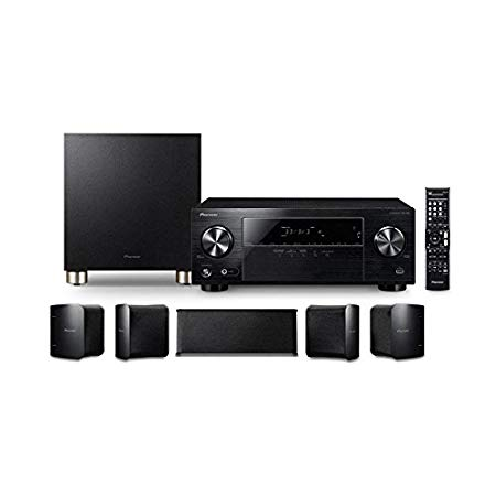 Home Theater Pioneer HTP-074 5.1 Ultra HD 4K HDR e Bluetooth